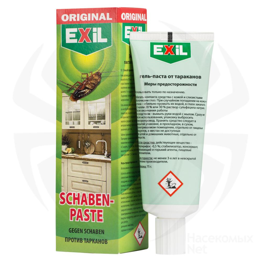 Гель для уничтожения тараканов Exil Schaben Paste